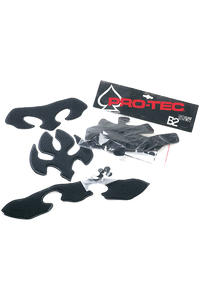 PRO-TEC B2 Skate/Bike Sxp Fit Kit Set di protettori (grey black)