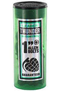 """Thunder 1"""" Bolt Pack Flathead (countersunk) allen"""
