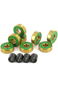 Shake Junt OG's ABEC 7 Bearings inkl. Spacer (gold)