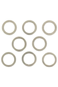 Shortys Standard 8mm Speedrings (silver) 8er Pack