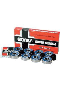 Bones Bearings Super Swiss 6 Bearings inkl. Spacer (blue)