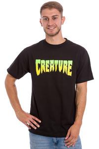 Creature Logo T-shirt (black)