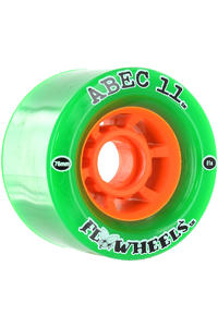 ABEC 11 Flywheels 76mm 81A Rollen 4er Pack (green)