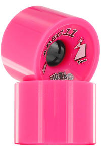 ABEC 11 Retro Zig Zags 70mm 77A Ruote (pink) pacco da 2