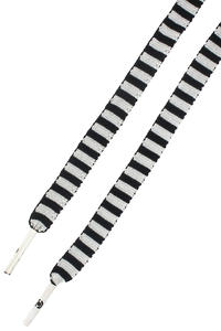 C1RCA Pattern Schnürsenkel (black white stripe)