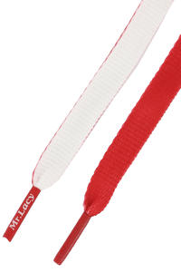 Mr. Lacy Clubbies Laces (red white)