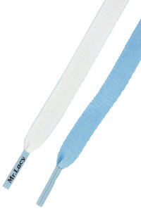 Mr. Lacy Clubbies Laces (light blue white)
