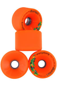 Orangatang Durian 75mm 80A Roue (orange) 4 Pack
