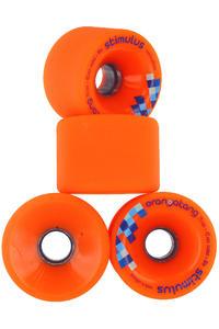 Orangatang Stimulus 70mm 80A Roue (orange) 4 Pack
