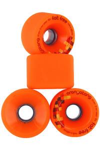 Orangatang Fat Free 65mm 80A Ruote (orange) pacco da 4