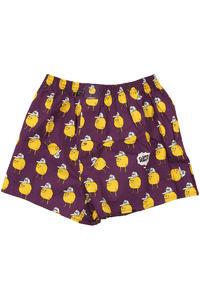 Lousy Livin Underwear Zitrone Boxers (purple)