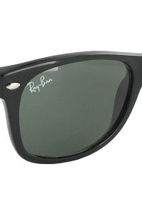 Ray-Ban New Wayfarer Sonnenbrille 55mm (black rubber)
