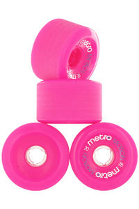Metro Wheels Motion 70mm 78A Roue (pink) 4 Pack