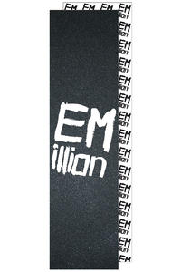 EMillion Big Logo Grip adesivo (black white)