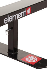 Element Obstacle Flat Rail (black)