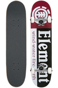 "Element Section 7.5""  Tavola completa (black red)"