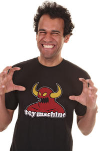 Toy Machine Monster T-shirt (black)