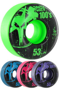 Bones 100's-OG #11-Party-Pack 53mm Ruote (multi) pacco da 4