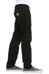 Carhartt WIP Skill Pant Cortez Hose (black rinsed)