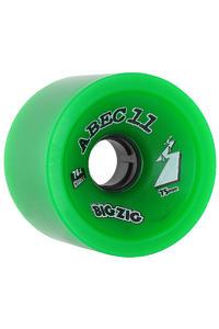 ABEC 11 Big Zigs Classic 75mm 78a Roue (green) 4 Pack