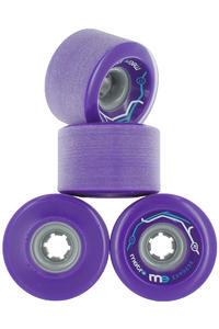 Metro Wheels Express 77mm 78A Rollen (purple) 4er Pack