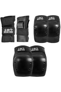 187 Killer Pads Protection Junior Set-Protection kids (black)