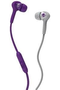 Skullcandy Smokin Buds Kopfhörer mit Mikro (athletic purple grey)