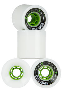 Hawgs Biggie 70mm 80A Rollen (white) 4er Pack