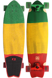 "Globe Chromantic 33"" (84cm) Cruiser (rasta flag)"