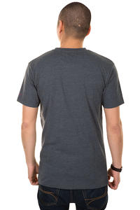 Cleptomanicx Möwe T-shirt (heather dark grey)