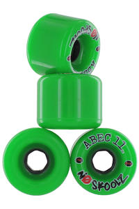 ABEC 11 No Skoolz 65mm 78a Roue (green) 4 Pack