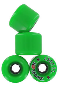 ABEC 11 No Skoolz 65mm 81A Rollen (green) 4er Pack
