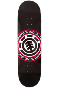 "Element Team Elemental Seal Black 8.5"" Planche Skate"