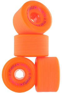 Metro Wheels Motion 70mm 82A Roue (orange) 4 Pack