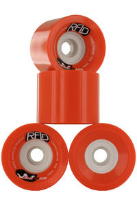 R.A.D. Advantage 74mm 80A Ruote (red) pacco da 4