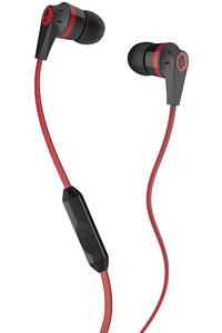 Skullcandy Ink'd Casques Ecouteurs mit Mikro (black red)