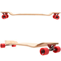 """Globe Bannerstone 41"""" (104,1cm) Complete-Longboard (red bamboo)"""