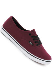 Vans Authentic Lo Pro Schuh (tawny port true white)