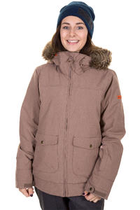 Roxy Scenery Veste de Snow women (deep taupe)
