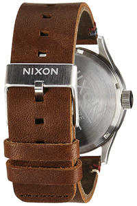 Nixon The Sentry Leather Uhr (black brown)
