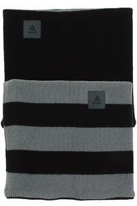 Anuell Tahko Reversible Stripe Scaldacollo (black grey)