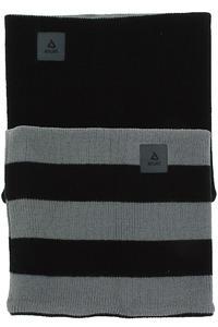 Anuell Tahko Reversible Stripe Neckwarmer (black grey)