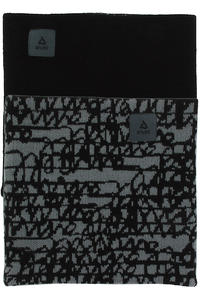 Anuell Tahko Reversible Scribble Sjaal (black grey)