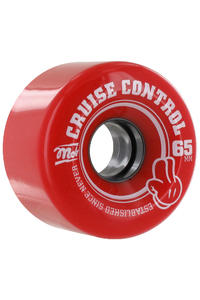 MOB Skateboards Cruise Control 65mm Roue (red) 4 Pack