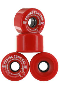 MOB Skateboards Cruise Control 65mm Wiel (red) 4 Pack