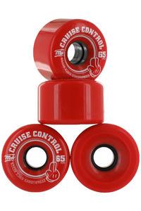 MOB Skateboards Cruise Control 65mm Ruote (red) pacco da 4