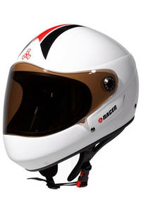 Triple Eight T8 Racer Downhill Helm (white)