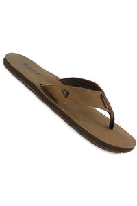 Reef Leather Smoothy Pantolettes (bronze brown)