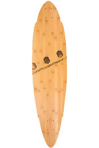 "Hackbrett Balance Bambus 41.4"" (105cm) Planche Longboard"