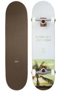"Globe Varsity 8"" Complete-Skateboard (palm fog)"